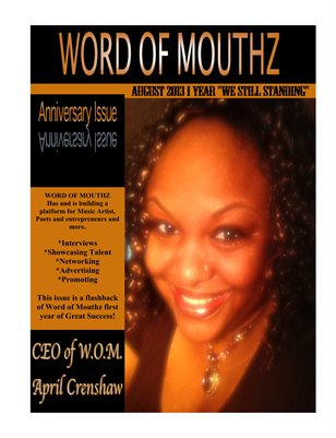 WOM Anniversary Issue
