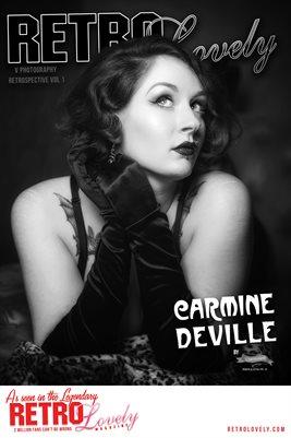 V Photography Retrospective Vol 1 Carmine Deville Cover Poster