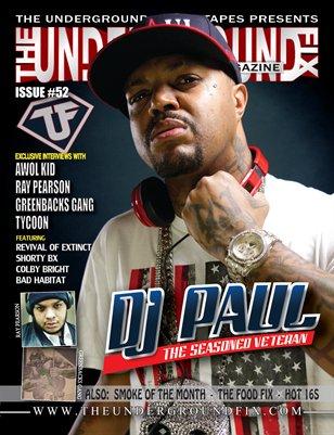 The Underground Fix Magazine Issue #52