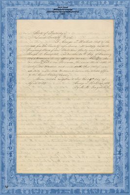 (PAGES 3-4) 1854 DEED, WILLIAM STALEY TO HUGH D. CAMPBELL, MASON & LEWIS COUNTIES KENTUCKY