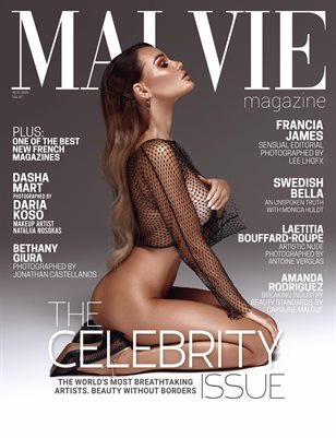 MALVIE Mag The Celebrity ISSUE Vol. 07 October 2020