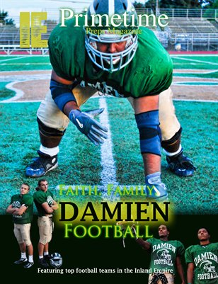 Inland Empire Prime Time Preps Magazine Damien Football Edition April 2012