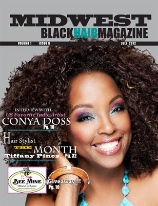 2012 July Issue- Midwest Black Hair Magazine