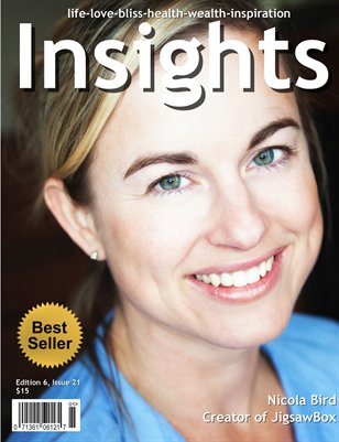 Insights Magazine featuring Nicola Bird