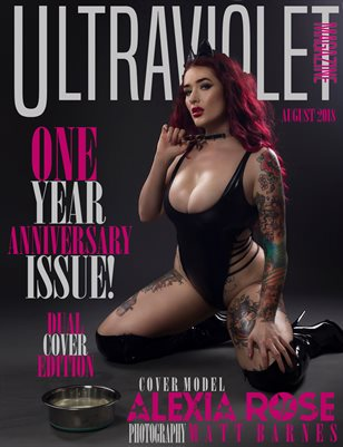 ULTRAVIOLET MAGAZINE: August 2018 Cover 2