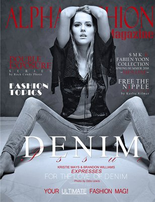 Denim Issue Volume.11 Issue#12 - (Carlie) Cover