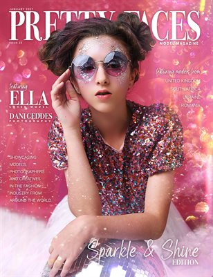 Pretty Faces Model Magazine | Issue 23 | Sparkle & Shine Issue