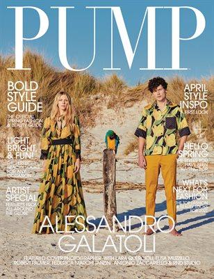 PUMP Magazine | The Trendsetter Edition | Vol.3 | April 2021