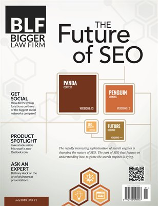 The Future of SEO - July 2013