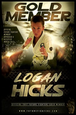 LOGAN HICKS GOLD MEMBER/DIPLOMA POSTER