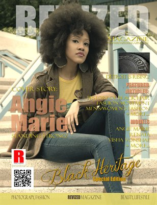 REVIZED MAGAZINE: Black Heritage Special Edition