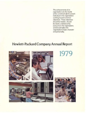 HP Annual Report 1979