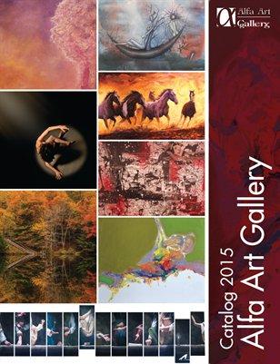 Alfa Art Gallery Catalog 2015