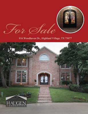 Haugen Properties - 816 Woodhaven Dr., Highland Village, Texas 75077