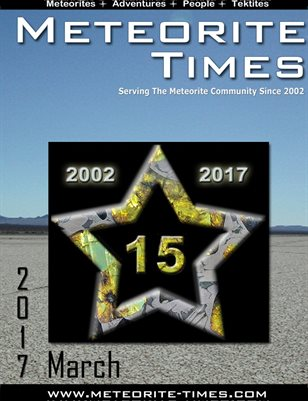 Meteorite Times Magazine - March 2017 Issue