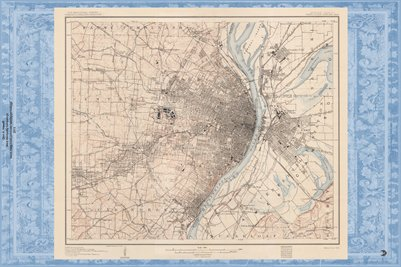 1903 Map of Saint Louis, Missouri