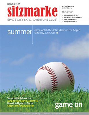Sitzmarke Newsletter June 2013