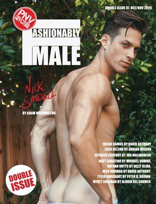 Nick Sandell for PnVFashionablymale Magazine Issue 07