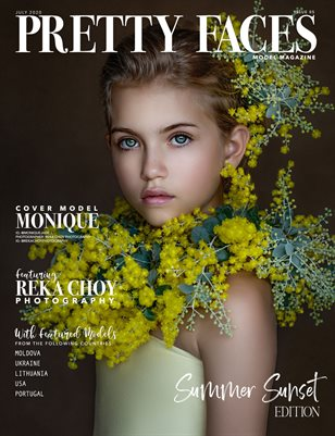 Pretty Faces Model Magazine | Summer Sunset - Issue 05