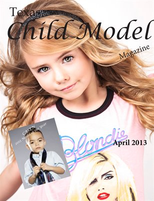 Texas Child Model Magazine April Edition