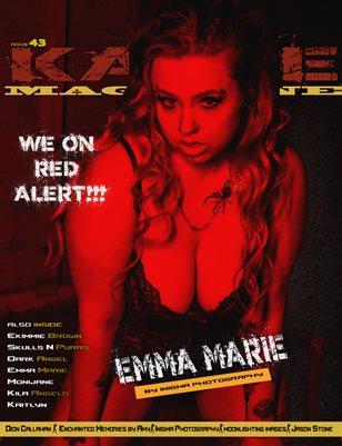 Kayze Magazine Issue 43 - Emma Marie - Open Theme