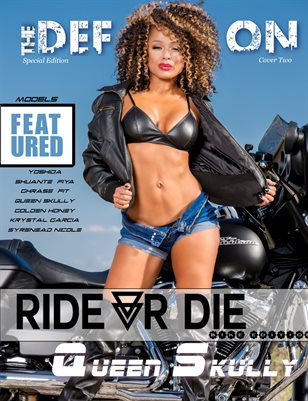 TDM: QUEEN SKULLY-Ride or Die Bike Edition Vol.1 Cover 2 2020