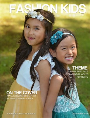 Fashion Kids Magazine | SEPTEMBER ISSUE (COVER OPTION 2)
