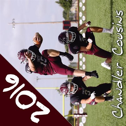 Chandler Cousins 2016 Football Calendar