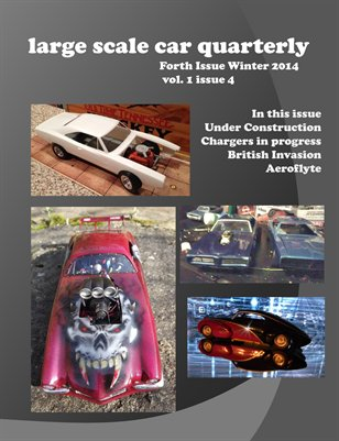 large scale car quarterly 4