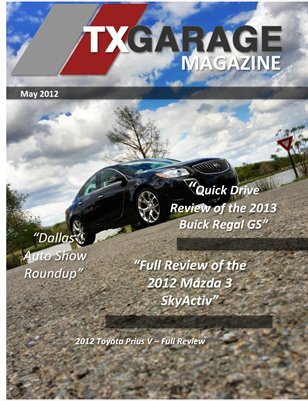 txGarage Magazine May 2012