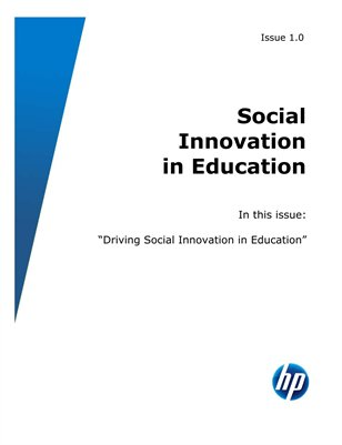 Driving Social Innovation in Education