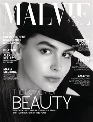 MALVIE Mag The Artist Edition Vol 15 October 2020