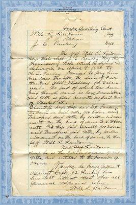 1891 LANDRUM VS. PAUKEY (1)
