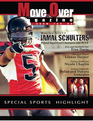 MoveOver Magazine: Special Sports Highlight Edition - Starring Jamal Schulters and Dylan & Dakota Gonzalez