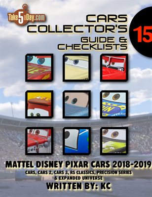 CARS 2018-2019 Yearbook: Complete Visual Checklist & Guide #15