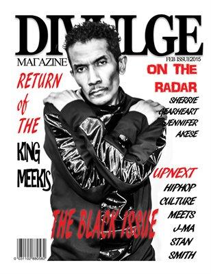 DiVulge Magazine FEB ISSUE 2015  Exclusive Cover
