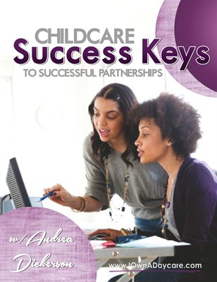 Childcare Success Keys to Success