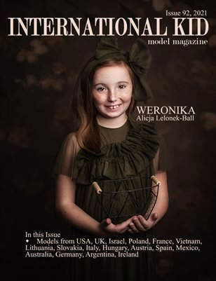 International Kid Model Magazine Issue #92