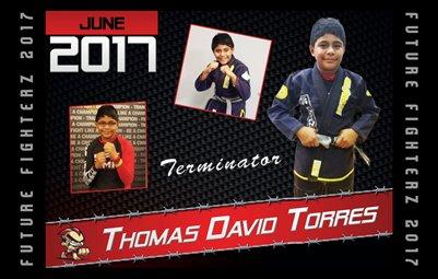 Thomas Torres 8x5 Cal Design