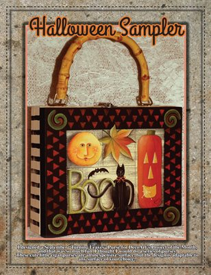 Halloween Sampler Painting Project - Sharon Chinn
