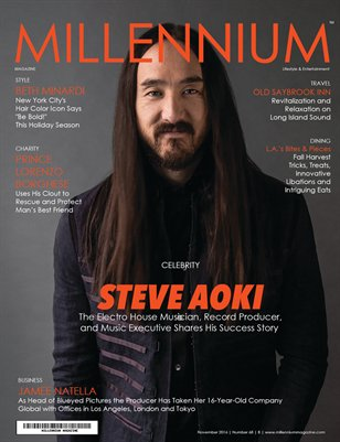 MILLENNIUM MAGAZINE | NOVEMBER 2016 | B