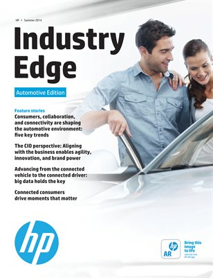 HP Industry Edge: Automotive edition 2014