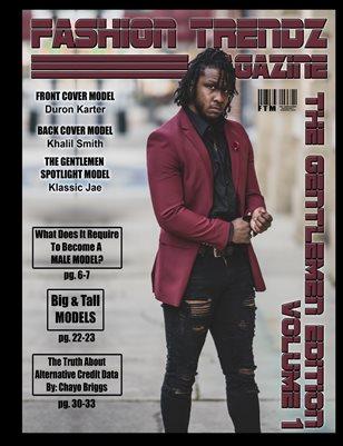 Fashion Trendz Magazine The Gentlemen Edition Vol.1