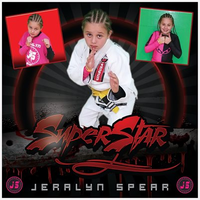 Jeralyn Spear 8x8 Cal Comp Card