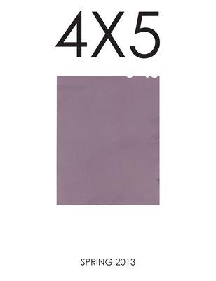 4X5 Spring 2013