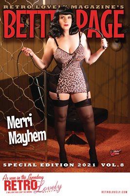 Bettie Page 2021 VOL.8 Merri Mayhem Cover Poster