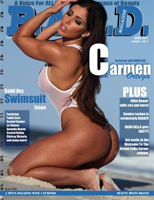 B.A.D.D. Magazine's Swimsuit Issue (Carmen Ortega Cover)