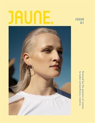 Jaune Magazine Issue 01 \ Cover 4