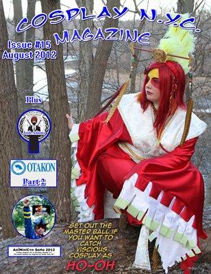 CosplayNYC Magazine August 2012