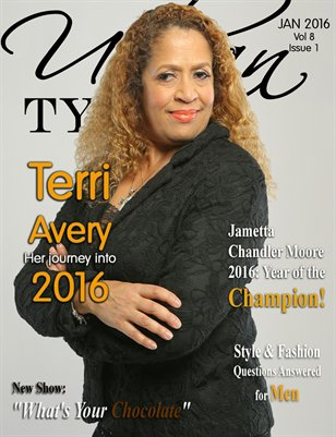 Urban Tymes January 2016 Issue Featuring Terri Avery